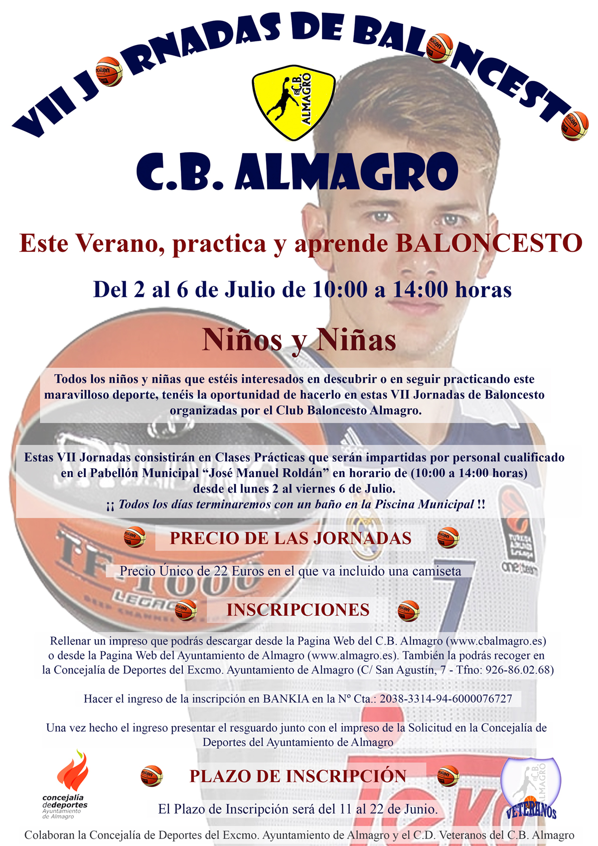 Cartel Baloncesto VII Web