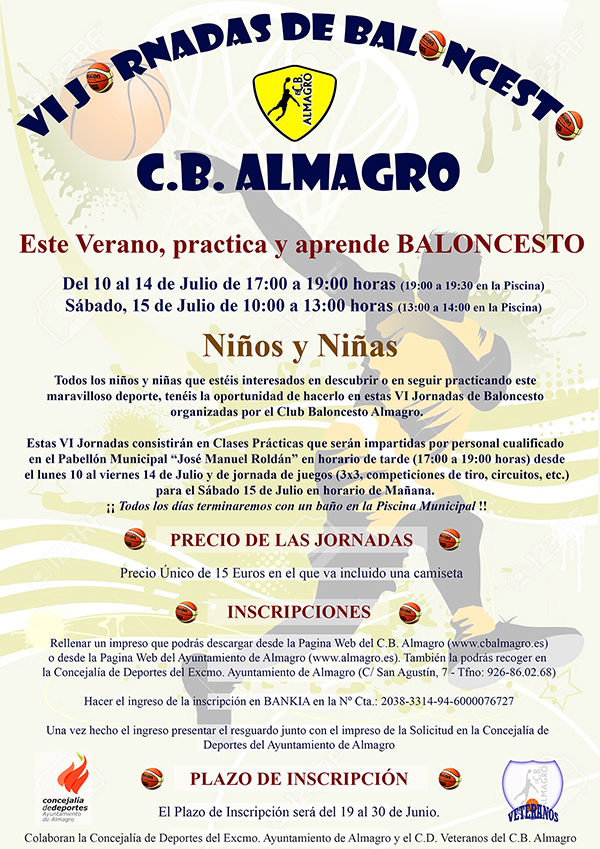 Cartel Baloncesto VI Web